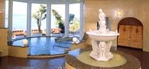 コートダジュール風庭園風呂