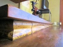 床の間の図面角竹