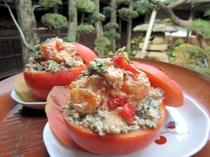 柿の胡桃白和え