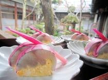鰆の黄身寿司