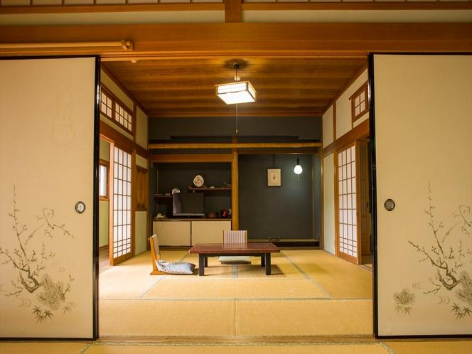 客室一例。広々空間