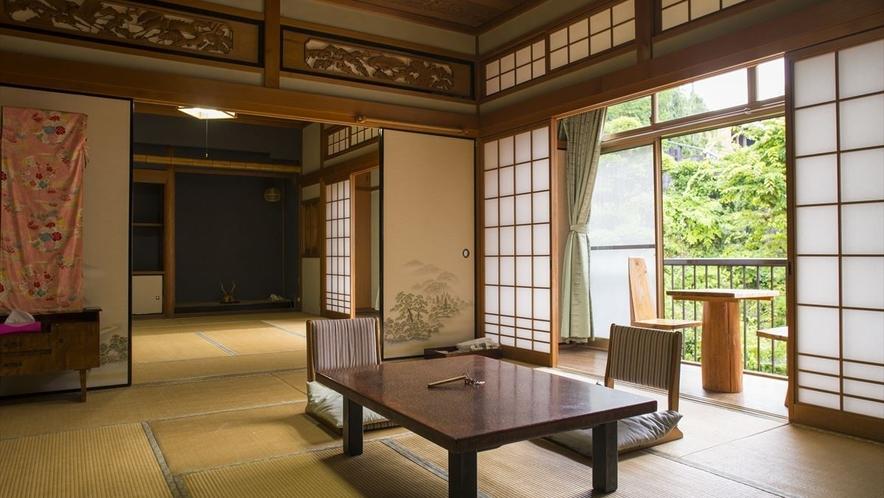 明るく開放的な和室一例