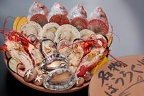 清海名物 ホウロク焼(写真は4人前)