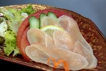 伊勢鶏の生ハムサラダ