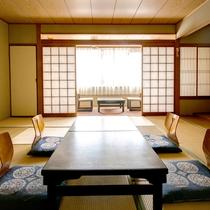 【和室8畳一例】ゆっくりお寛ぎいただける和室です。