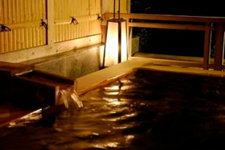 貸切風呂恵那山の夜