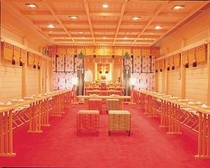 神殿結婚式場
