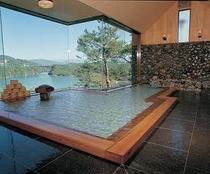 大浴場 檜風呂