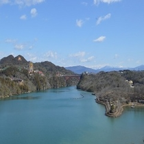 3月恵那峡