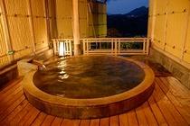 貸切風呂笠置の夜