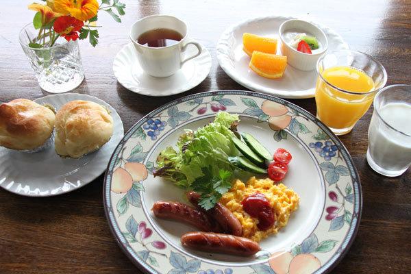 朝食の1例