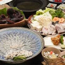 お料理一例(ふぐづくし+たこ)