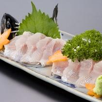 いわなの刺身(一例)川魚本来の美味しさをお楽しみ下さい。