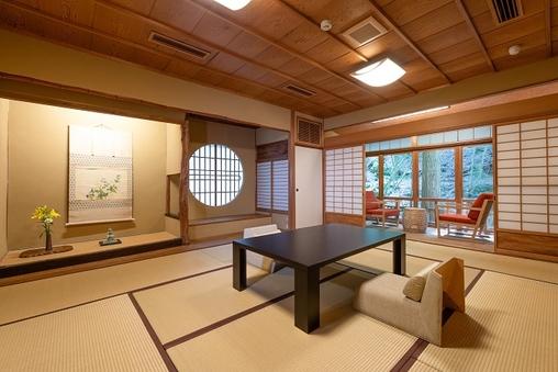 離れ「萩」-当亭の一番奥に位置する静寂の客室- (10帖)