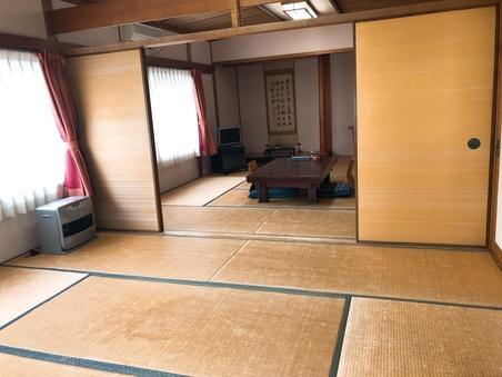 【旧館】和室8畳(2間続き)