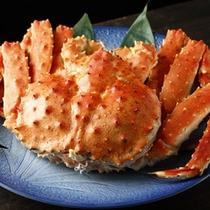 タラバ蟹は1グループに1杯(約1.6㎏)おつけします