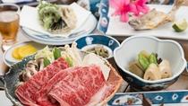 *【夕食一例】熊野牛のしゃぶしゃぶ