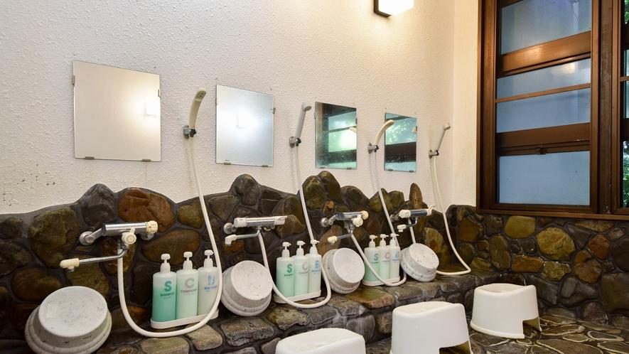 *【大浴場(男湯)】体の芯から温まる良質な温泉です。
