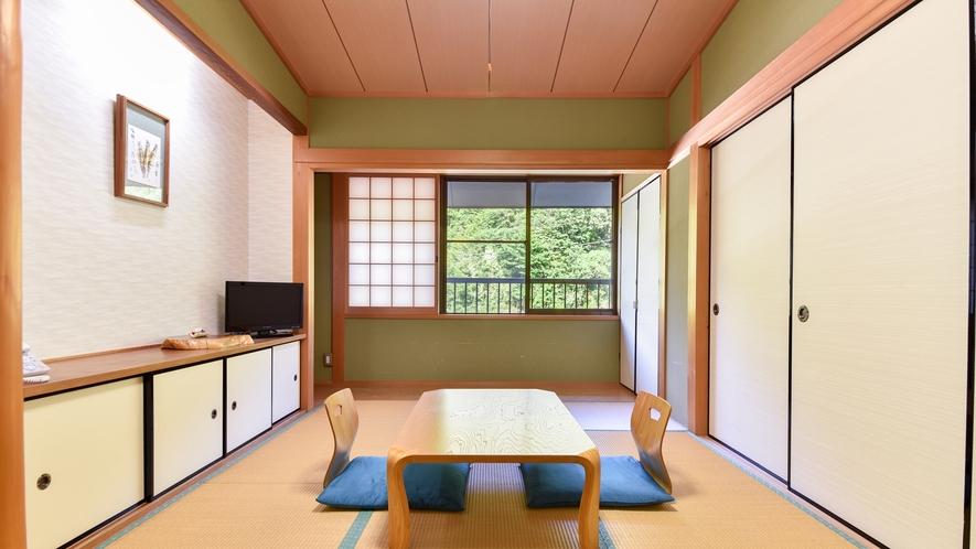 *【和室7.5畳(一例)】龍神産の檜を使った落ち着いた和室です。