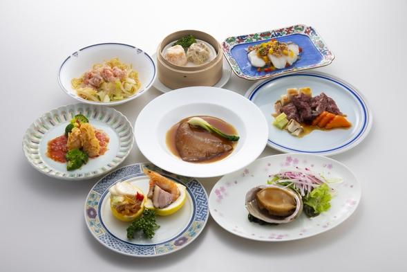 <石川県在住の方限定・五感にごちそう金沢対象>贅沢ディナー〜フカヒレ・鮑コース〜を堪能♪2食付