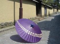 長町武家屋敷・和傘のお散歩