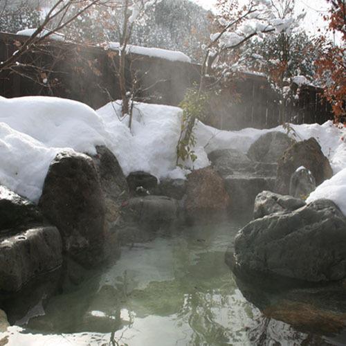大浴場露天冬