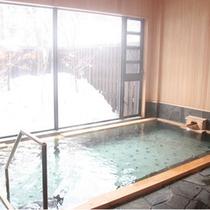 大浴場内湯冬