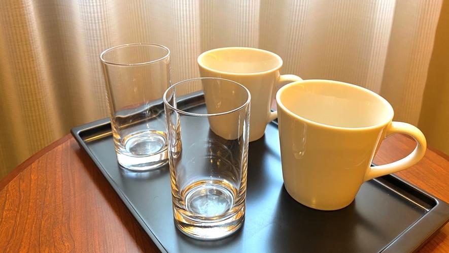 【客室備品】マグカップ・グラス