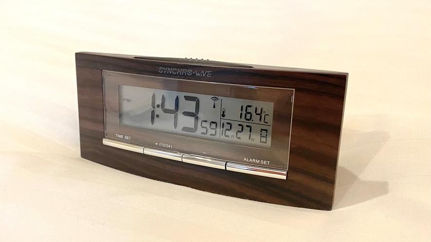 【客室備品】時計