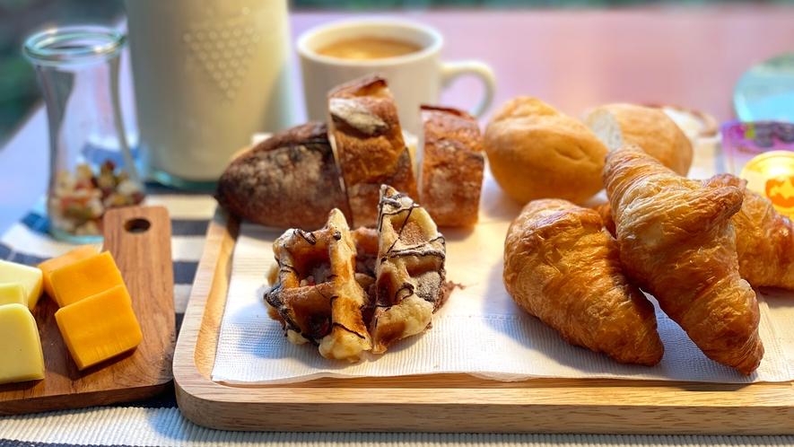 【朝食ビュッフェ】一例