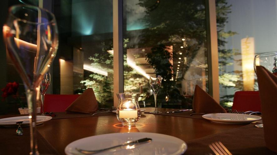【3Fレストランボルドー】夜のイメージ※現在夜の営業を一時停止しております。再開は未定です。