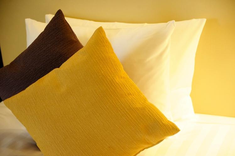 【シモンズ製ベッド】全部屋に、最高の眠りを作るシモンズ社製ベッドを採用しております