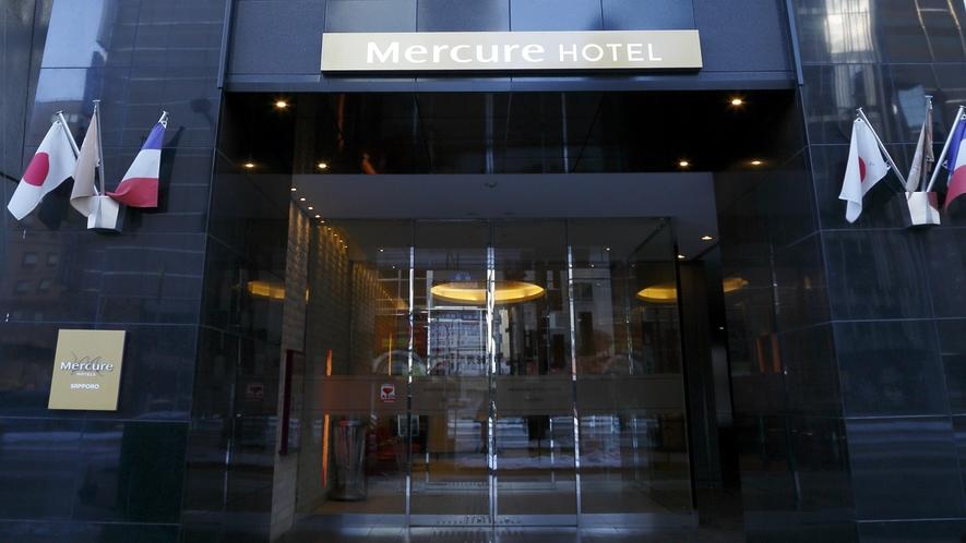 【ホテル正面】