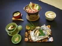 松茸料理の一例
