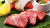 【一品料理一例】しまね和牛鉄板焼き