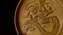石見神楽の大蛇は有福温泉の象徴のひとつ。