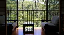 【離れの一棟】1棟建て和室「さくら」中庭を望み、季節を感じる