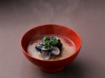 【お椀】宍道湖産しじみ お味噌汁