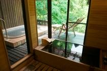 客室かえで 檜風呂