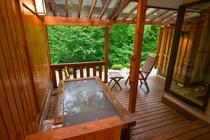 客室けやき 露天風呂