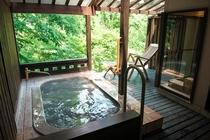 客室いちょう 露天風呂