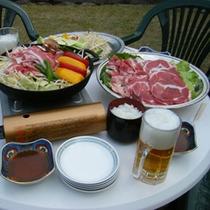 【ガーデンバーベキュー】3月~10月・120分間食べ放題・飲み放題のコースあります