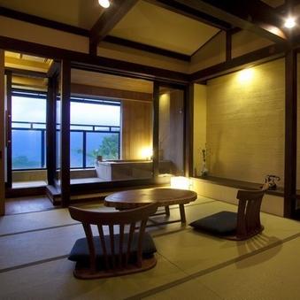 【露天風呂付き】和室タイプ(10畳)/2階