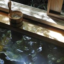 客室露天で自家源泉100%の温泉を愉しむ贅沢