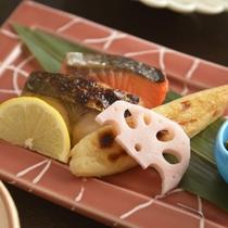 京職人手作りの朝食
