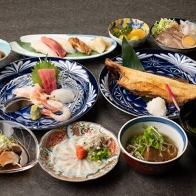 【スタンダードプラン】定番海の幸10品・会食場