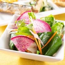 【Lohas健康朝食】有機JAS認定野菜を使用!