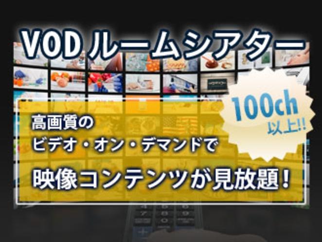 ルームシアター見放題(VOD)