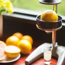 ■朝-フルーツ生搾り-■