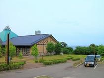 温泉「なごみ」からの日本海の景色が綺麗です